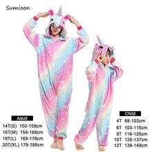 Mommy and Me Unicorn Animal Kigurumi Pajamas