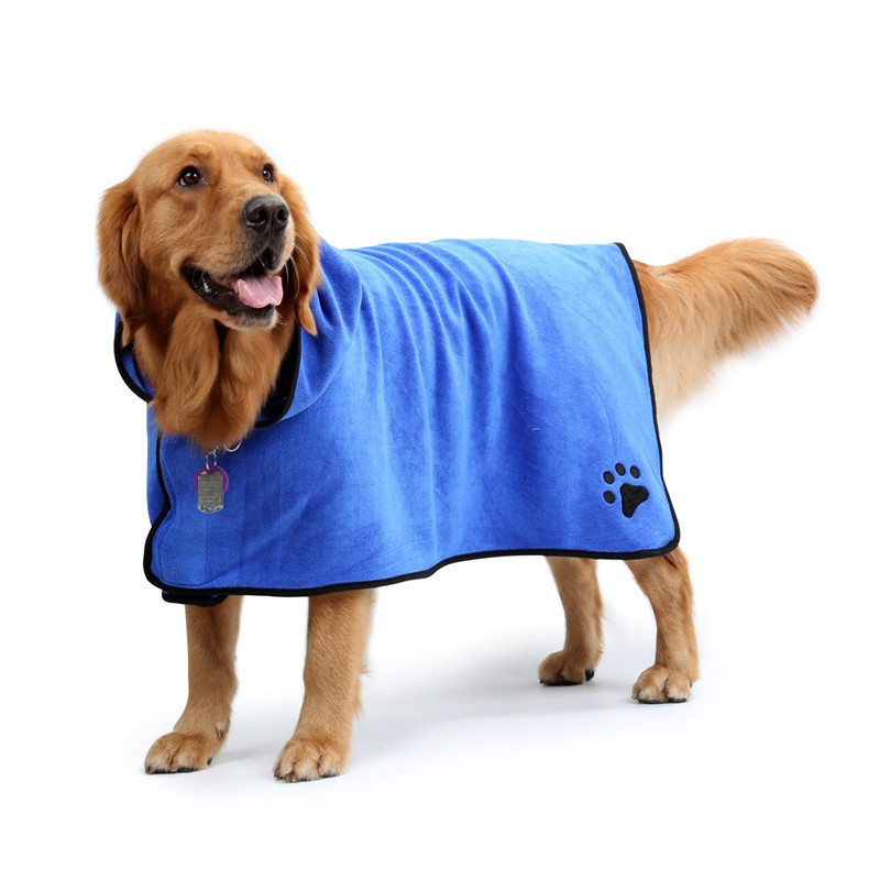 Dog Bathrobe (4)