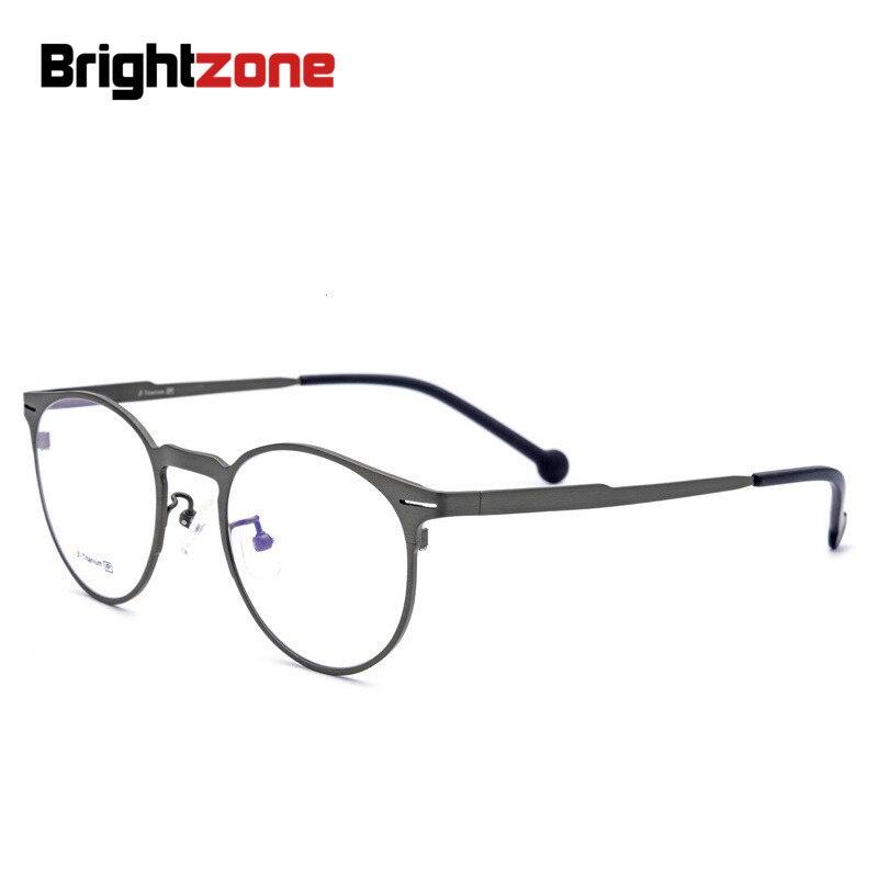 Brightzone Super Light weight only 15g Full Rim 100 Pure Titanium Men Women Titanium EyeGlasses Eye