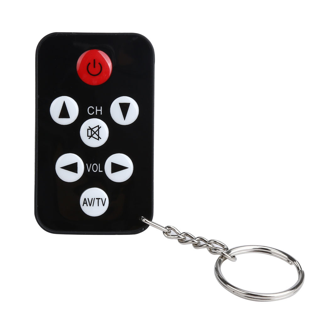 LANDFOX TV Mini Keychain Universal Remote Control for Sony Panasonic Toshiba LO