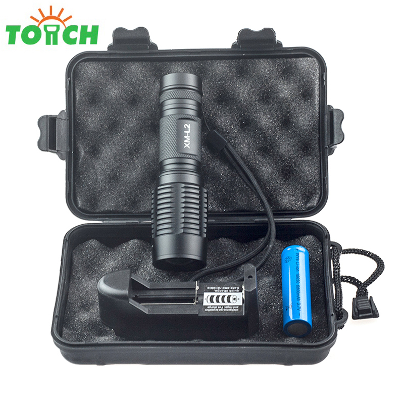 Cree xml T6-L2 Lampe Torche Led Zoom Gladiator Flashlight Waterproof High Power Hunting Searchlight for Working Backpacking high quality outdoor flashlight cree t6 led searchlight torch for camping shock resistant lampe torche