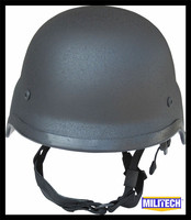 NIJ IIIA Black M88 Steel Bullet Proof Helmet Steel Helmet PASGT Steel Bulletproof Helmet With Test