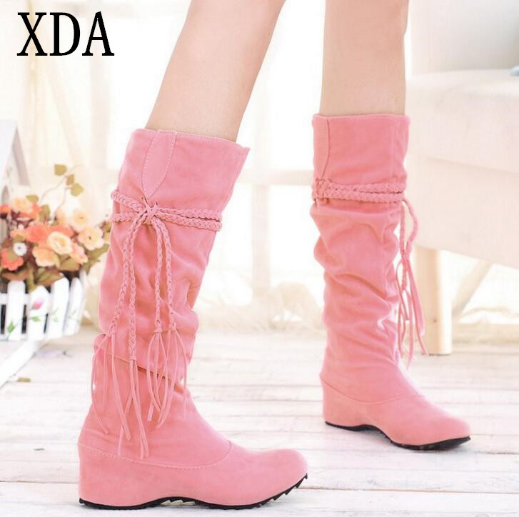 Popular Pink Fringe Boots-Buy Cheap Pink Fringe Boots lots from ...