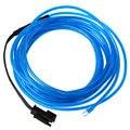 3 M Resistente À Água Tiras de LED Flexível Luz Neon Fio EL Tubo Corda com Controlador para Iluminação Interior e Exterior