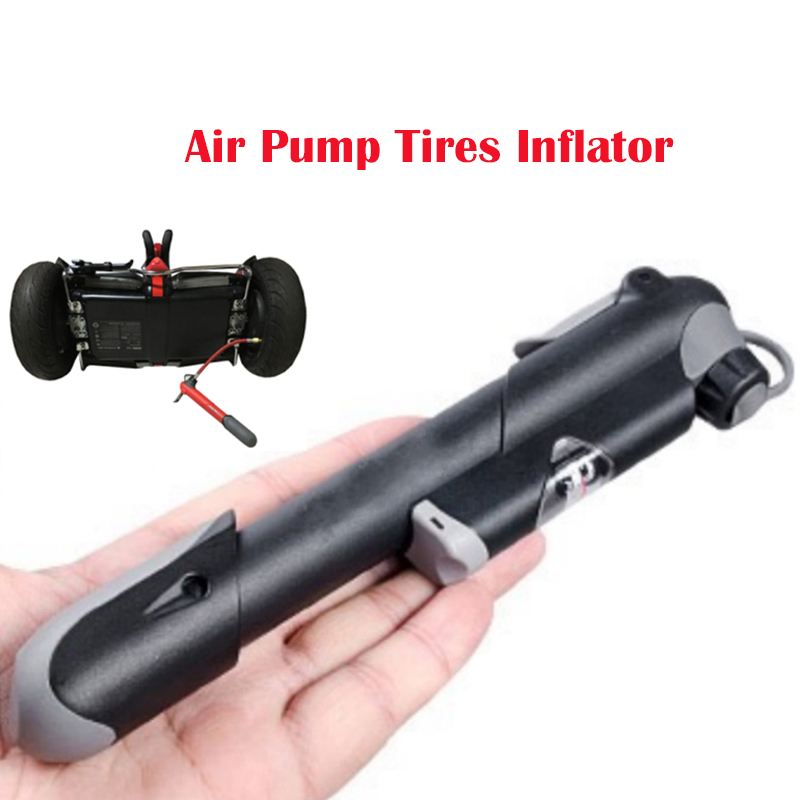 Mini Portable Cycling Air Pump Tires Inflator for Xiaomi Mijia M356 Electric Scooter Skateboard Ninebot Mini Pro Tyres Air Pump