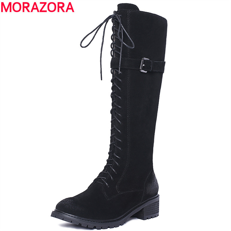 Leather Combat Boots Women Promotion-Shop for Promotional Leather