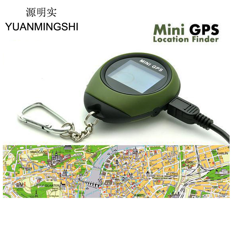 Location-Finder Gps-Tracker Outdoor-Sports Mini Handheld with Digital-Compass