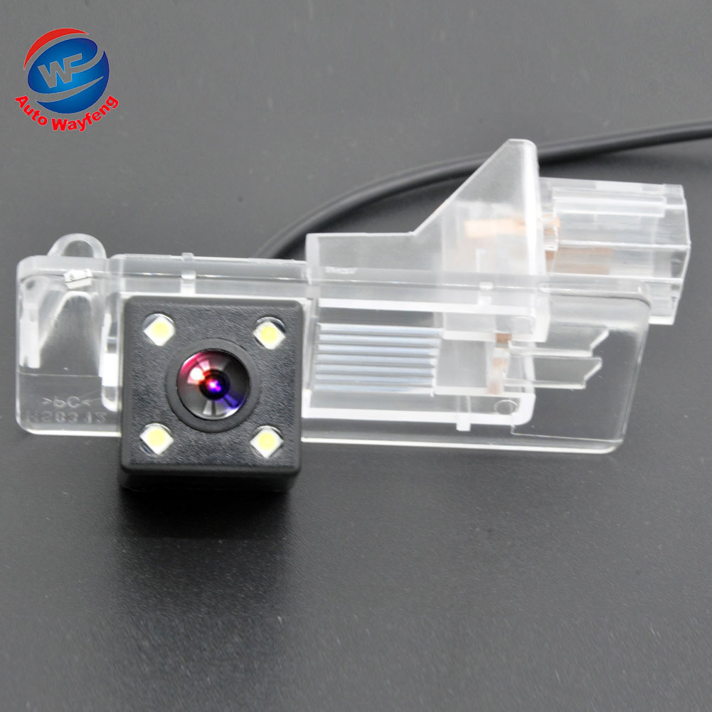 Rear View Reverse Camera for Renault Fluence/Renault Clio 4 2014 2015 CCD waterproof night vision backup Parking camera