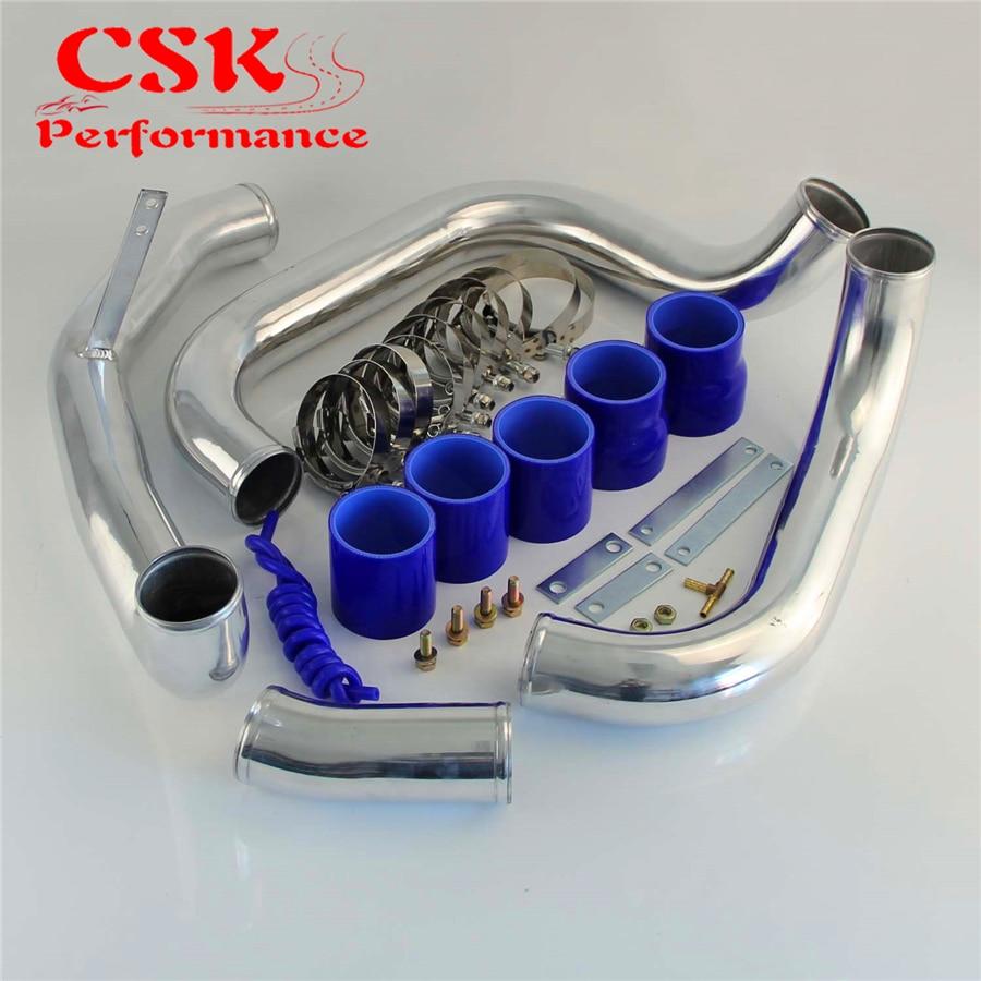 Upgrade Turbo Intercooler Pipe Piping Kit Fits For Nissan Skyline R32 R33 GTST R34 RB20 RB25DET GTT 93-98 Blue / Black /Red проточный фильтр для железистой воды под мойку гейзер 3 к люкс 18021