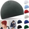 Rayas de Punto Gorros Cap Sombrero de Invierno para Los Hombres y Las Mujeres Al Aire Libre deporte Tapas de Hip Hop Sombreros de Piel Toucas 6 Colores para Elegir