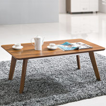 Cafe Tables home Cafe Furniture Wood coffee table basse minimalist modern desk sofa side table new 60/120*60*45cm catan mesa(China)