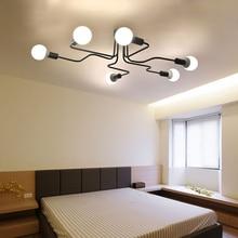 Modern LED Teto Iluminação Lustre Quarto Sala de estar Lustres de Casa Criativa Iluminação AC110V/220 V Frete Grátis