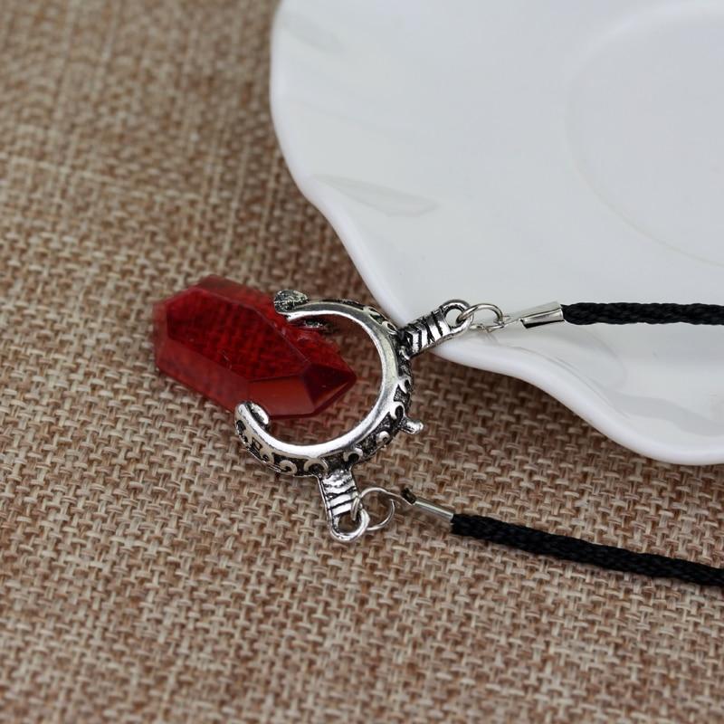 DMC Devil May Cry 5 Данте Вергилий красные, синие кристалл кулон Цепочки и ожерелья Высокое качество подарок для Для мужчин красивые женские аксесс...