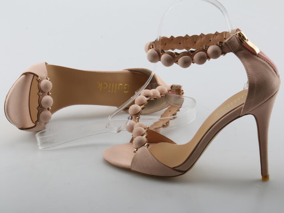As Zip Doux Rose De La D'été Robe Dames Bureau Ouvert Troupeau Sandales Mode Couverture Femme Talon Hauts Pictures À Chaussures Bout Talons Pointu ZZFr1q