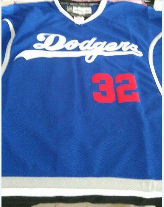 sale retailer 05f17 84cc2 32 Jonathan Quick Los Angeles Dodgers LA King Blue Limited ...