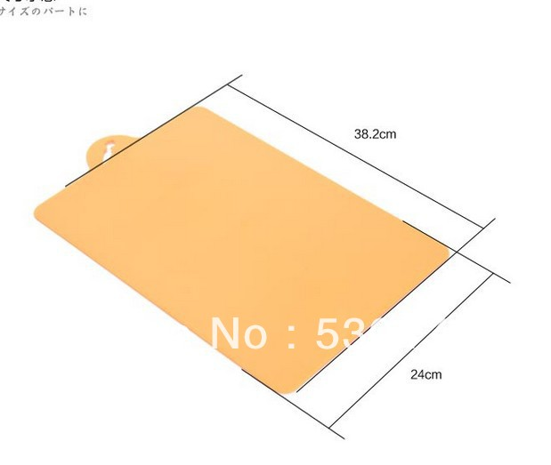 Classification antibiotic slip-resistant chopping block cutting board 38.2*24cm