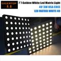 TIPTOP LED MATRIX WHITE 49 Golden Color Warm White USA CREE 3W Lamp Beam Effect 7x7 Slim Matrix Light Background Effect Light