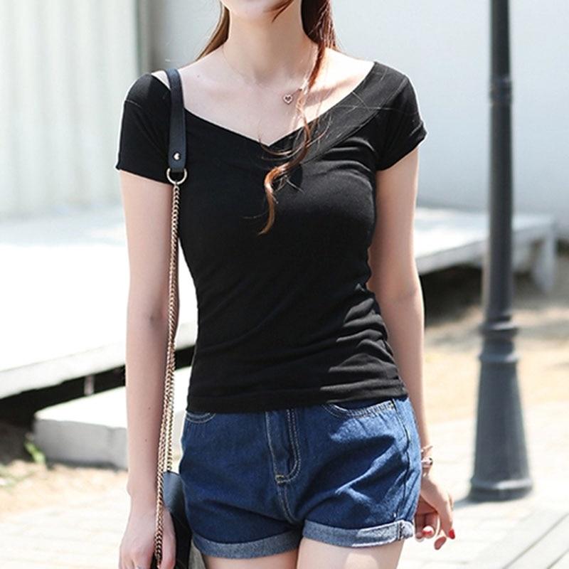 poleras de mujer moda 2018 off shoulder women tshirts tee   shirt   femme sexy funny   t     shirts   cotton   t  -  shirt   women casual   t     shirt