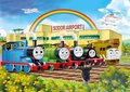 Thomas and His Friends Thomas Edward Percy Lady Magnetic Wooden Trains Model Kids  Toys Gifts for Children James Henry Gordon