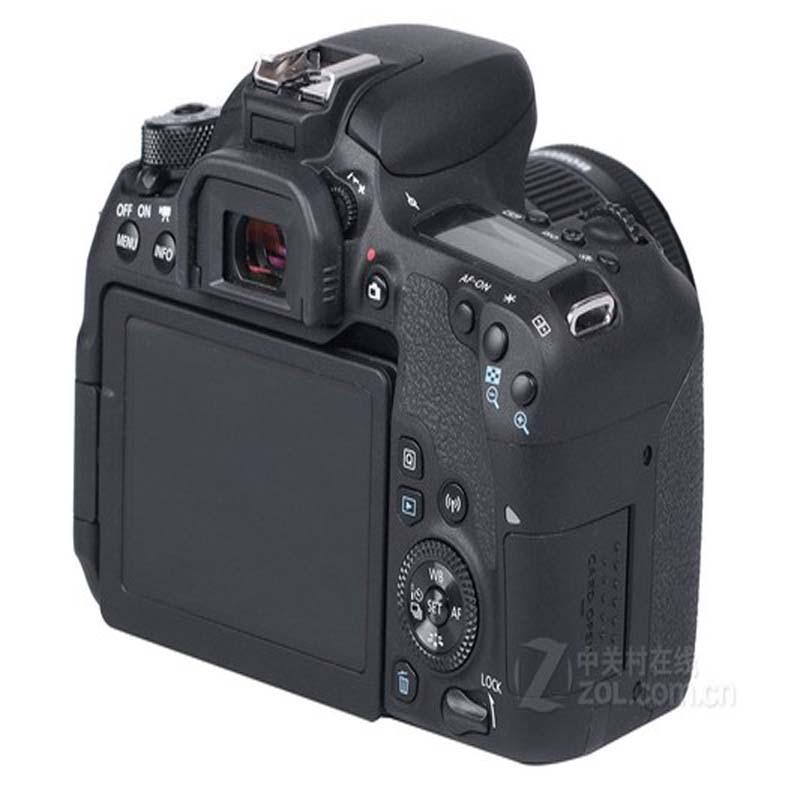 PCTC 2pcs 0.3mm For Canon 77D HD anti scratch fingerprint toughened glass screen protective film