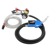 AUTO Portable 12V crude oil engine Fluid Extractor Electric Transfer Pump Car Fuel Auto Speed