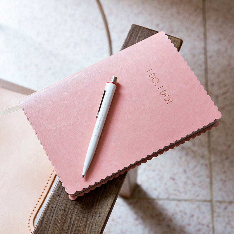 """""""I Do"""" Traveler Notebook Wedding Journal Lovers Diary Faux Leather Study Notepad Girlfriend Stationery Gift"""