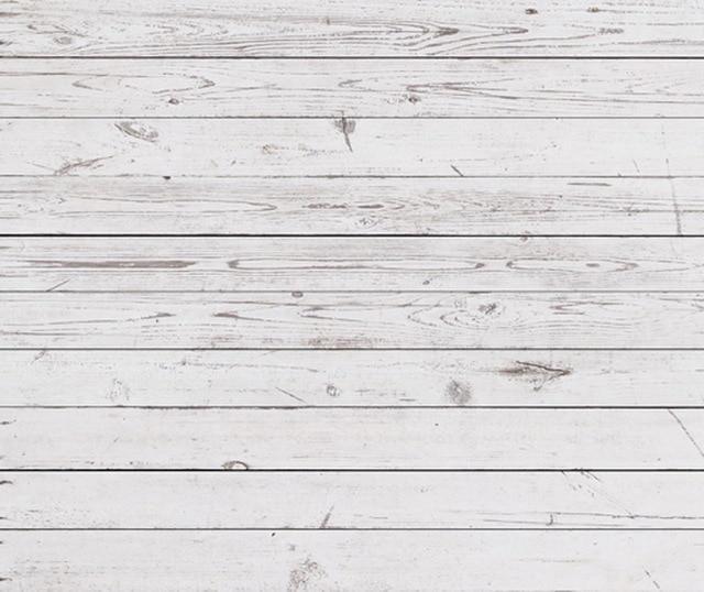 Vintage blanco suelo de madera de arte de la fotograf a de for Papel pintado madera blanca