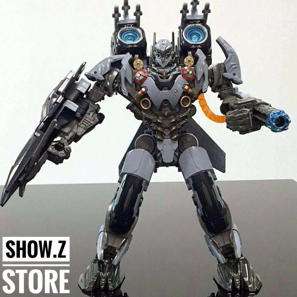 [Show.Z Store] Black Mamba 4th Party The Last Knight Nitro Oversized Transformation TF Action Figure transformation 5 tra mv5 the last knight optimus prime leader class megatron 2pcs set figure figurine