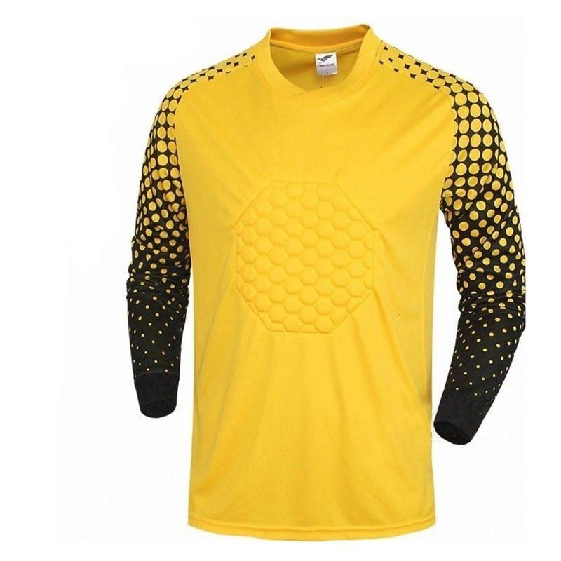 e945b53cf6f 2017 football goalkeeper jerseys long sleeve soccer shirts goalkeeper  jerseys sponge blank soccer jerseys goalie training shirts-in Soccer Jerseys  from ...
