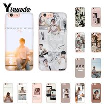 Yinuoda Singer Shawn Mendes Magcon Pattern TPU Soft Phone Case for iPhone 6S 6plus 7 7plus 8 8Plus X Xs MAX 5 5S XR
