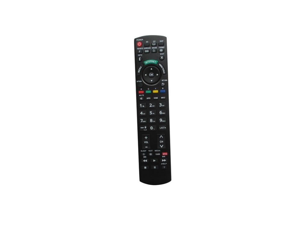 Remote Control For Panasonic TX-L42EW6K N2QAYB000842 N2QAYB000863 TX-LR47WT60 TX