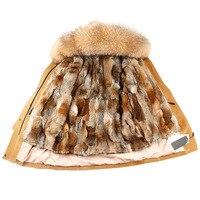 OFTBUY 2019 new winter jacket coat women parka fur coat Corduroy real raccoon fur collar warm thick lamm fur wool liner parkas