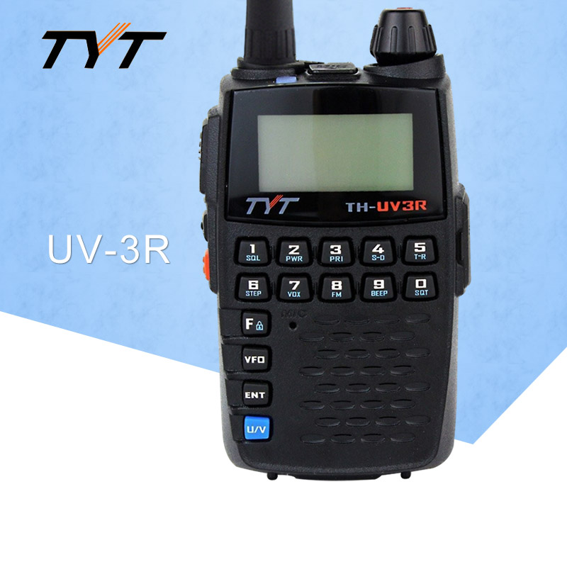 Appliquer à TYT TH-UV3R Mini De Poche à Deux Voies Radio VHF/UHF Amateur HT Radio USB De Charge CTCSS/DCS Talkie walkie FM Émetteur-Récepteur