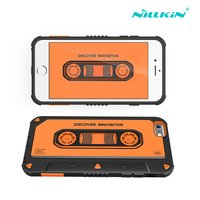 Original Nillkin Music Neo Hybrid Tough Armor Slim Cases For iPhone 6 6s Phone Back Covers 4.7'' PC and TPU materials for apple
