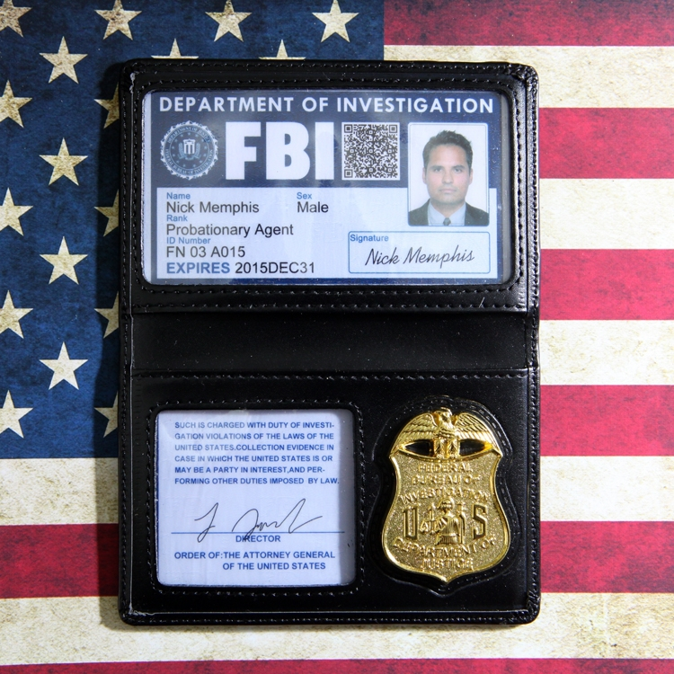 Aliexpress.com : Buy Credit Card Holder (FBI Pattern) From