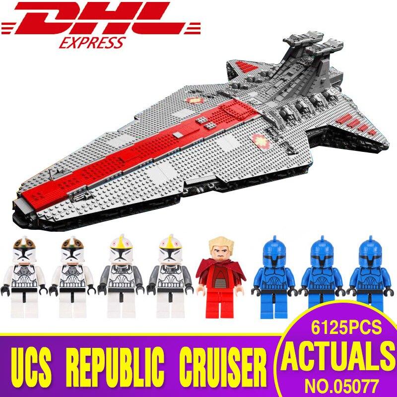 Plan Lepin 05077 05132 Star Wars Classique La Ngc ST04 Ensemble République Cruiser Éducatifs Blocs de Construction Briques Jouet Legoingly Cadeau