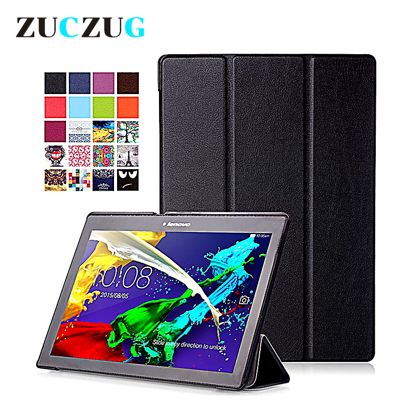 For Lenovo Tab 2 A10-30 X30 Case Magnet Stand PU Leather Case Protective Skin Shell Case Cover for TAB 2 A10 X30F X30L Cases tab 2 a10 70f stand pu leather case cover for lenovo tab 2 a10 30 x30f x30l magnet case for lenovo tab 10 tb x103f tab3 10 gifts