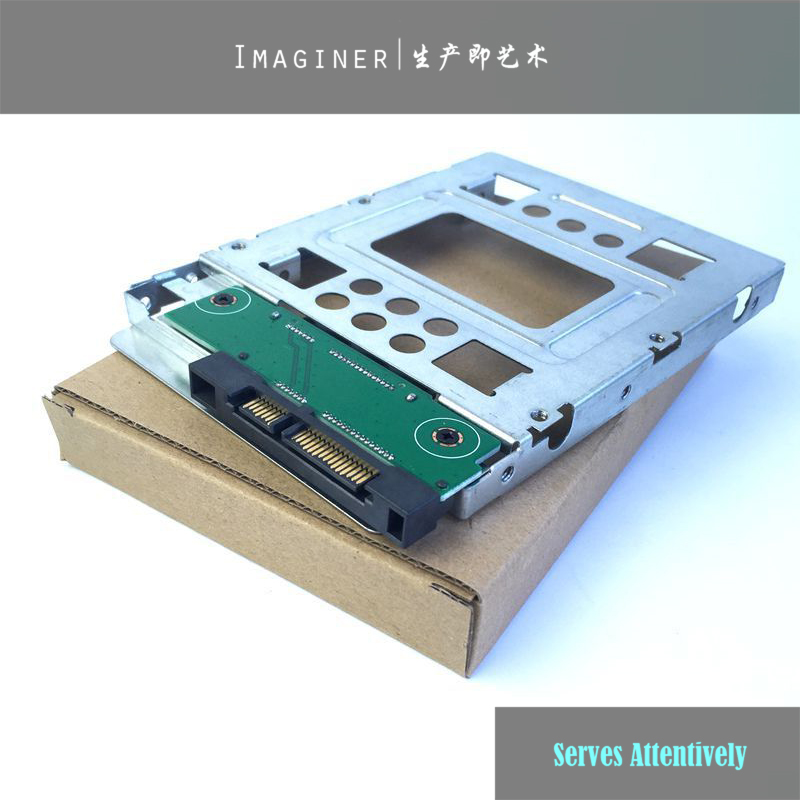 """1PCS NEW 654540-001 for HP 2.5"""" To 3.5 Adapter Tray SAS SATA SSD HDD Hot Swap Bracket Bay with Screw High Quality"""