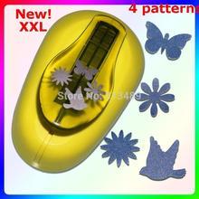 4-рисунки очень большой бабочки Бумага дырокол для скрапбукинга Бумага Творческий Craft Дырокол машина для тиснения