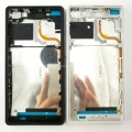 For Sony Xperia Z3v D6708 Original Middle Front Frame Bezel Housing  LCD Screen Holder Frame + Sim SD Plug Block Cap Parts