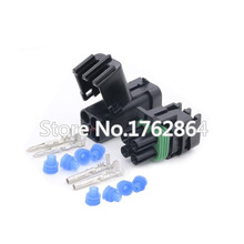 цена на 5 Set 4 Pin  DJ3041-2.5-11/21 Female Male Weather Pack Electrical Wire 2.5 Connector Plug Sealed Wiring Automobile Connectors