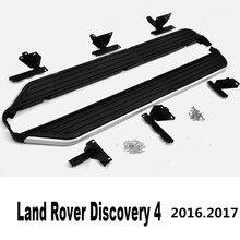 Для Land Rover Discovery 4 2016.2017 Автомобиля Подножки Боковые шаг Бар Педали Высокое Качество Новый Оригинальный Дизайн Nerf бары