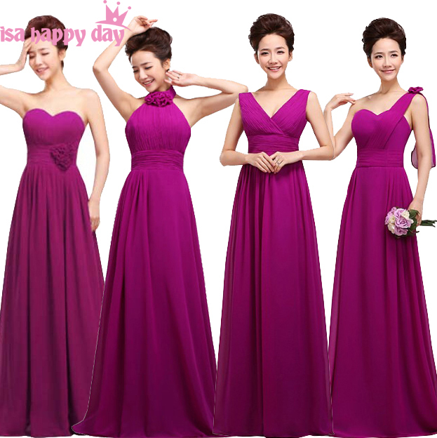 f9e51d432a08 4 design dark purple eggplant lace up fancy bridesmaid dress sister of the bride  formal teen dresses from china for weddings