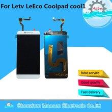 M & Sen Para Letv LeEco cool1 Coolpad fresco 1 c106 LCD screen display + touch digitalizador blanco/Oro envío gratis