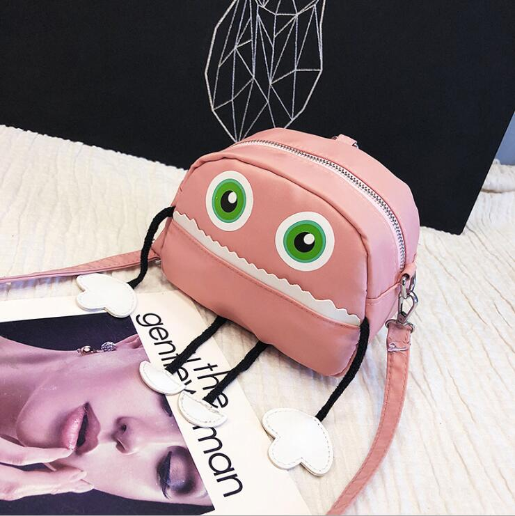 2018 Honey Disco Dancing Women Shoulder Bags Lovely Carton Printing With Tassel Hand Bags New Preppy Style Female Teenager Bags in Top Handle Bags from Luggage Bags