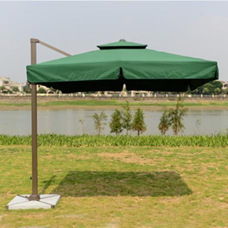 Outdoor Parasol Party Umbrella 2 M 5 3 Mi Luoma Hand Patio Double Top Side Aluminum