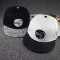 2016 nuevos mens womens euramerican dinosaurio snapback hip hop cap monopatín sombreros negro blanco ocasional gorras de béisbol para hombres mujeres