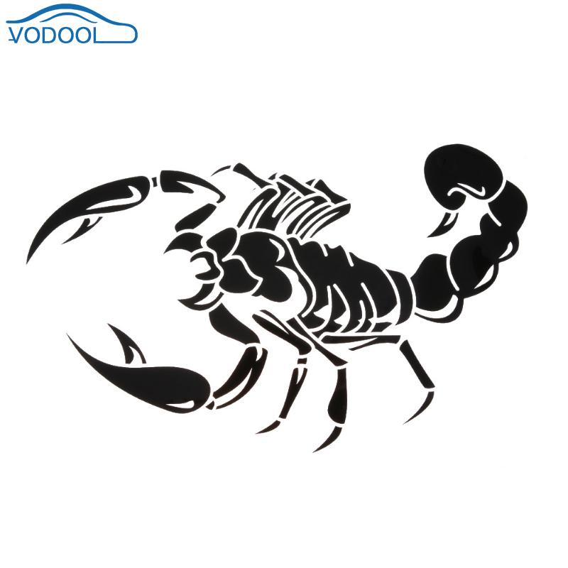Universal 3D Scorpion Car Styling Accessaries Auto Bumper Sticker Decals Motorcycle Bike Laptop Stickers Car Body Decoration