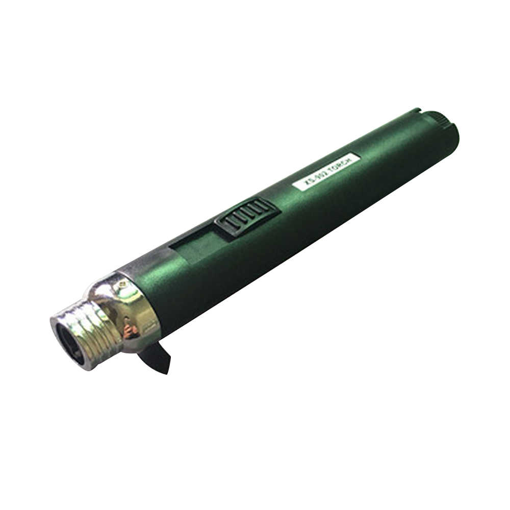 2019 Outdoor Lighter Welding Torch Jet Flame Pencil Butane Gas Refillable Fuel Welding Soldering Pen High Quality Free Shipping