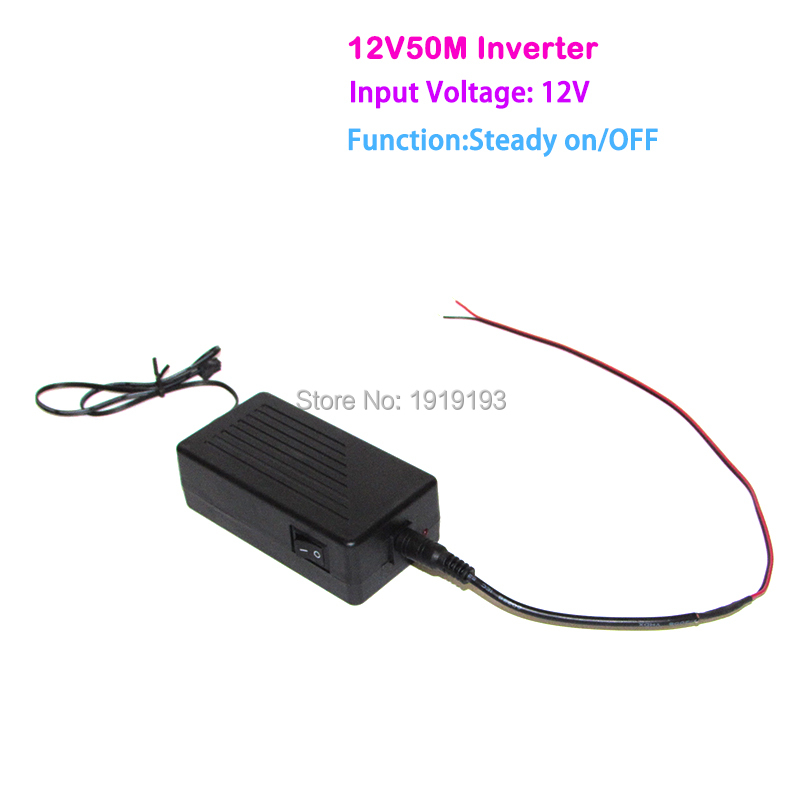 New type DC 12V EL inverter/driver loading 50Meter EL wire or EL ...